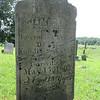"Wait Corners cemetery. Civil War grave -- ""killed at the Battle of Carrsville VA"""