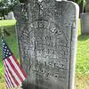 "Wait Corners cemetery. Civil War grave ""killed at the battle of Malvern Hill"""