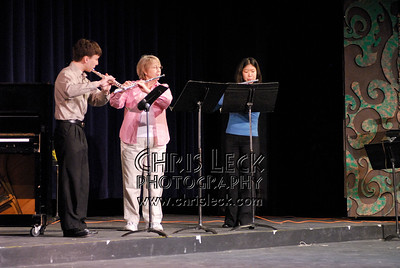 Rosemary Wood and students perform