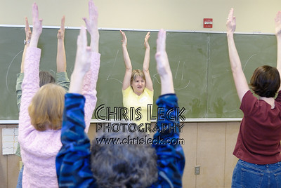 Nina Pileggi teaches a workshop on 'Yoga for Flutists'