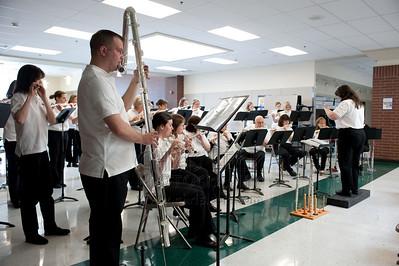 Rose City Flute Choir performs under the baton of Phyllis Louke
