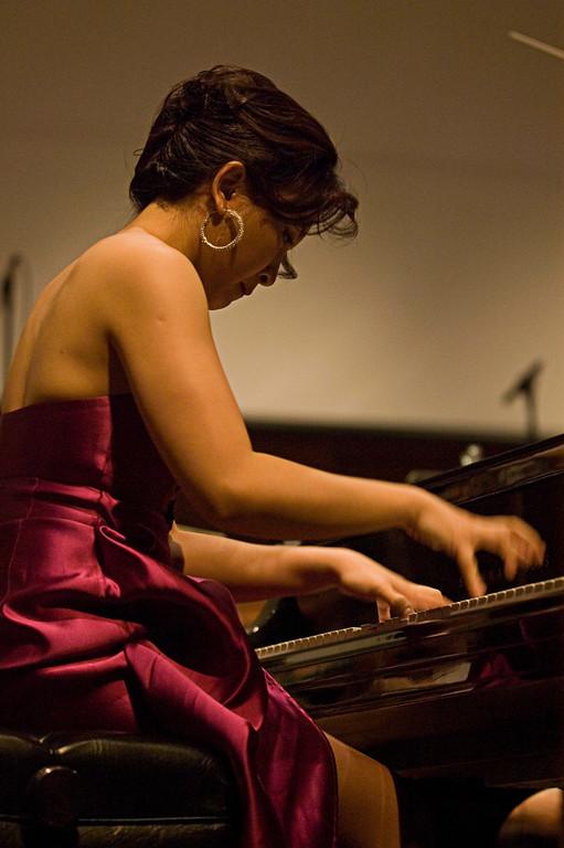 Jie Chen performing ProkofievÕs Piano Concerto No. 3.