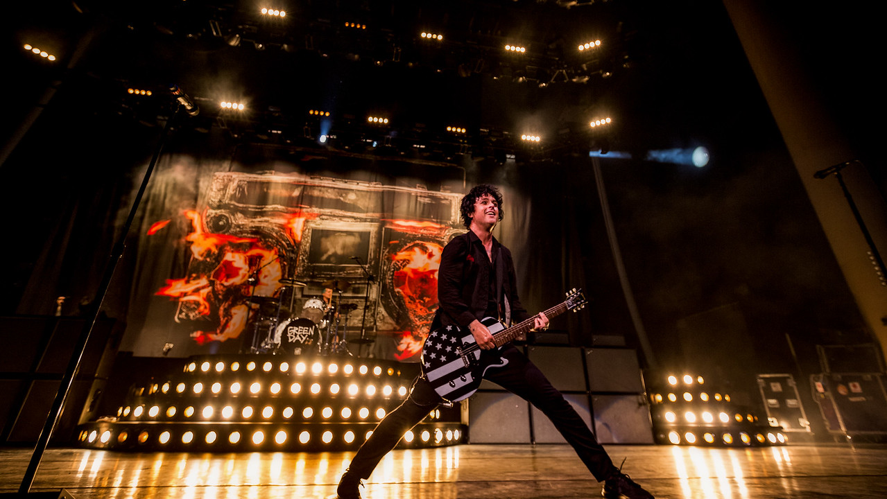 August 16, 2017 Green Day Revolution Radio Tour at the Klipsch Music Center in Indainapolis, Indiana.