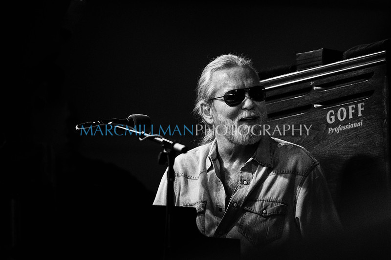 Gregg Allman offers up a rare smile<br /> <br /> Blues Tent (New Orleans Jazz & Heritage Festival- Fri 5/6/11)