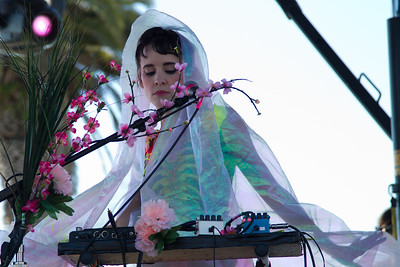 Grimes, 10/13/2012, Treasure Island Music Festival, San Francisco