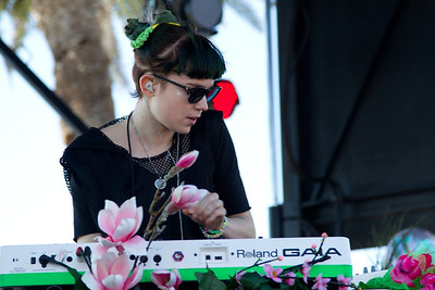 Grimes, 10/13/2012, Treasure Island Music Festival, San Francisco