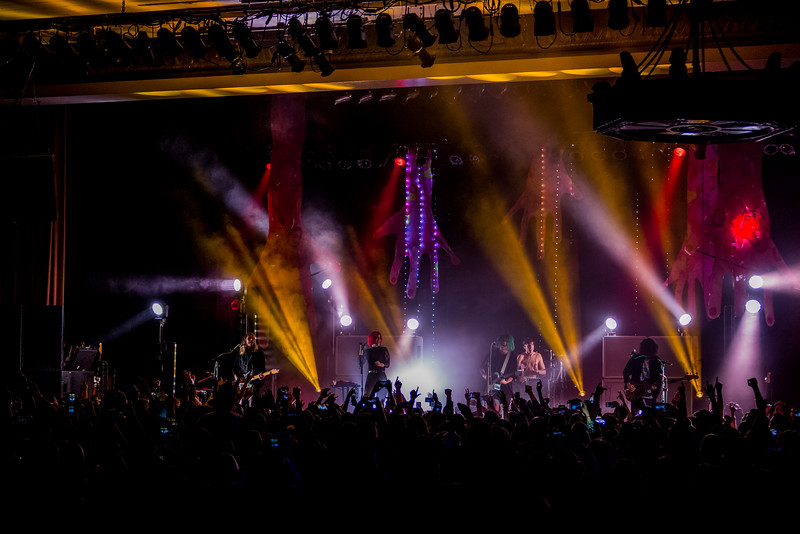 October 25, 2016 Grouplove at the Egyptian Room at Old National Centre in Indianapolis, IN. 📸:Vasquez Photography