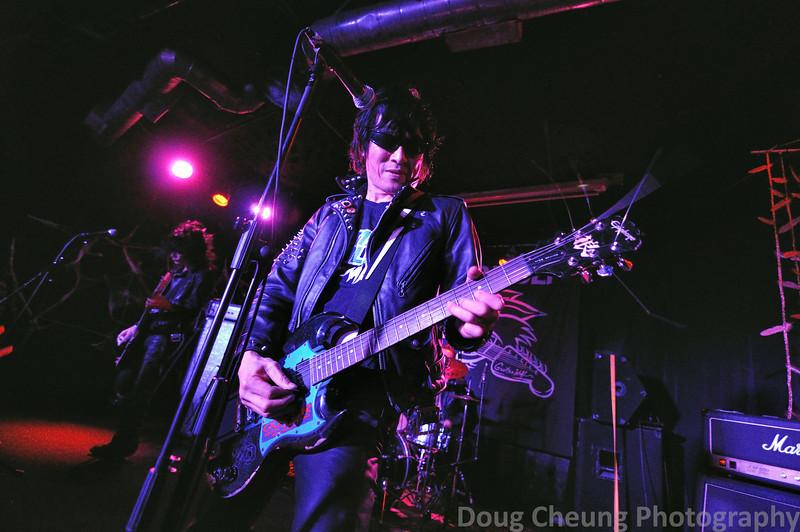 Guitar Wolf - The Satellite LA
