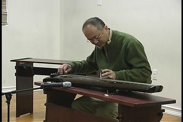 《環珮》‧ 指路絃歌一九九九一 ‧ 彈奏者:張筱羲 Dangling Jade from Zhi Ru Xuan Ge (1991), Benjamin Cheung