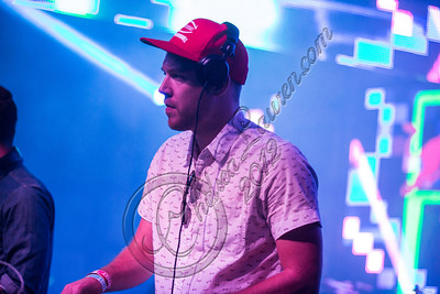 LOS ANGELES, CA - AUGUST 03:  DJ Vaughn Oliver of Oliver performs at the HARD Summer music festival at Los Angeles Historical Park on August 3, 2012 in Los Angeles, California.  (Photo by Chelsea Lauren/WireImage)