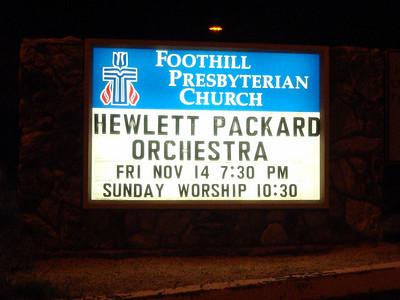 HPSO Transitions Concert - Nov. 14, 2008