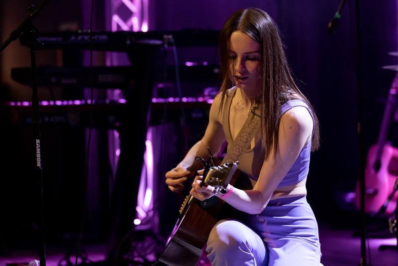 Haley Jonay at the HI-FI on March 19, 2021. Photo by Tony Vasquez.