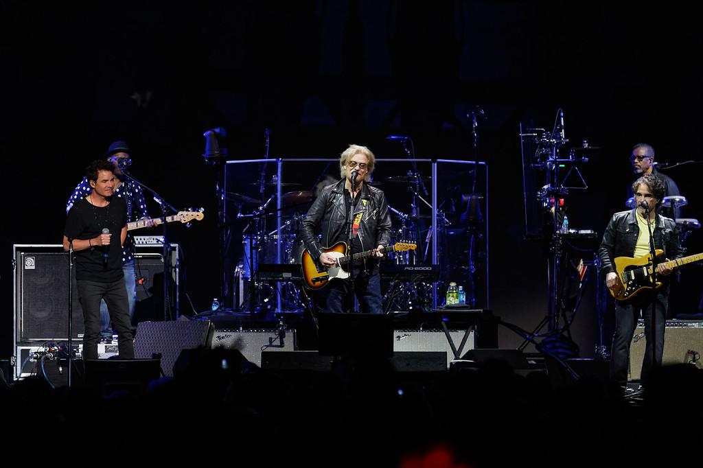 . Hall & Oates live at Little Caesars Arena on 5-20-2018. Photo credit: Ken Settle