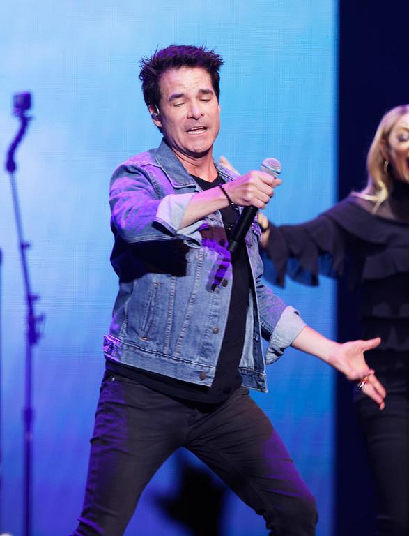 . Train live at Little Caesars Arena on 5-20-2018. Photo credit: Ken Settle