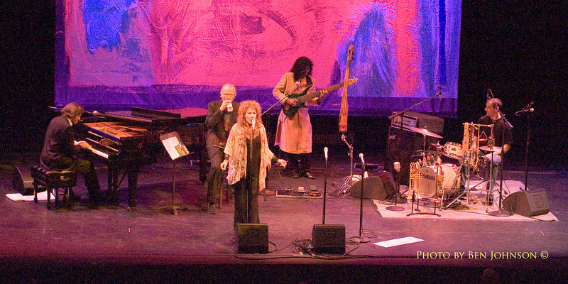 Lani Hall and Herb Alpert performing at Zellerbach Theater in Philaelphia on November 4, 2009