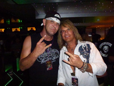 Big John (bodyguard and long-time friend of Brett Michaels of Poison)