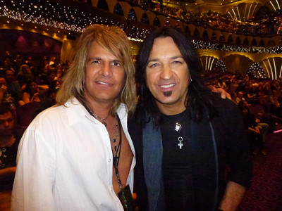 Michael Sweet; lead vocals and guitarist (Stryper).