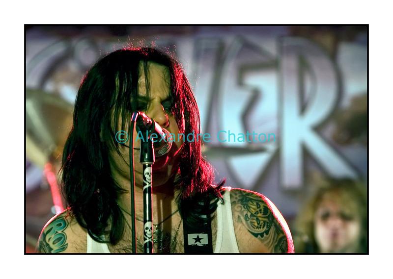 Silver Dirt en concert au 3e Chamois Festival à Vauderens le 4 octobre 2008