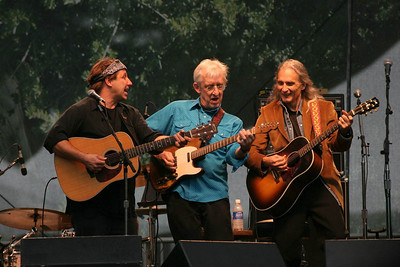 Jimmy Dale Gilmore Band Bill Kirchen in blue shirt Jimmy Dale Gilmore far right