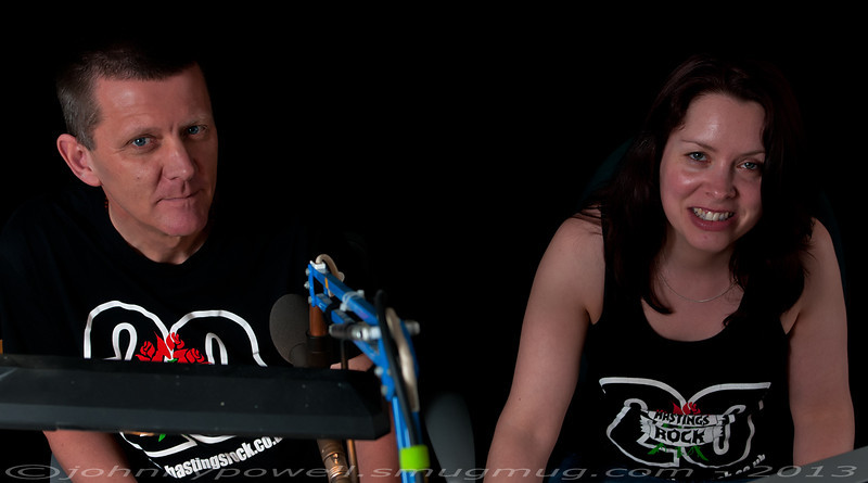 Andy Gunton and Dawn Wildman