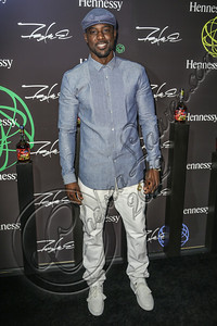 LOS ANGELES, CA - AUGUST 01:  Actor Lance Gross arrives at Hennessy's unveiling of a limited edition bottle designed by street artist Futura at Milk Studios on August 1, 2012 in Los Angeles, California.  (Photo by Chelsea Lauren/WireImage)