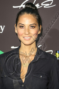 LOS ANGELES, CA - AUGUST 01:  Actress Olivia Munn arrives at Hennessy's unveiling of a limited edition bottle designed by street artist Futura at Milk Studios on August 1, 2012 in Los Angeles, California.  (Photo by Chelsea Lauren/WireImage)