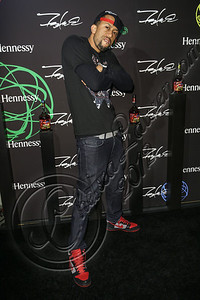 LOS ANGELES, CA - AUGUST 01:  Actor Affion Crockett arrives at Hennessy's unveiling of a limited edition bottle designed by street artist Futura at Milk Studios on August 1, 2012 in Los Angeles, California.  (Photo by Chelsea Lauren/WireImage)