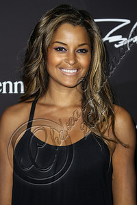 LOS ANGELES, CA - AUGUST 01:  Model Claudia Jordan arrives at Hennessy's unveiling of a limited edition bottle designed by street artist Futura at Milk Studios on August 1, 2012 in Los Angeles, California.  (Photo by Chelsea Lauren/WireImage)