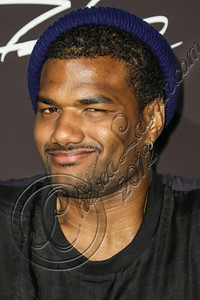 LOS ANGELES, CA - AUGUST 01:  Actor Damien Dante Wayans arrives at Hennessy's unveiling of a limited edition bottle designed by street artist Futura at Milk Studios on August 1, 2012 in Los Angeles, California.  (Photo by Chelsea Lauren/WireImage)