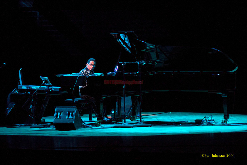 Herbie Hancok's Solo Piano Tour - performing at The Kimmel Center in Philadelphia, PA on October 8, 2011