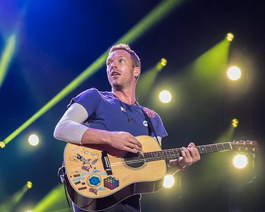 COLDPLAY AT THE MADE IN AMERICA FESTIVAL