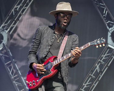 GARY CLARKE JR AT THE MADE IN AMERICA FESTIVAL