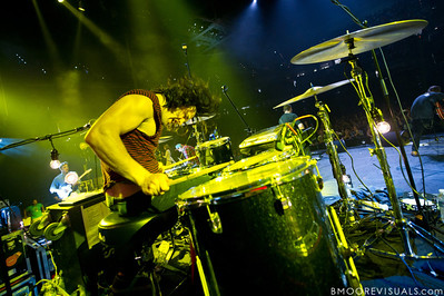Simon Kobler of Hillsong United performs in front of a sold out crowd on August 5, 2011 at St. Pete Times Forum in Tampa, Florida