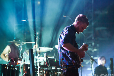 Timon Klein of Hillsong United performs in front of a sold out crowd on August 5, 2011 at St. Pete Times Forum in Tampa, Florida