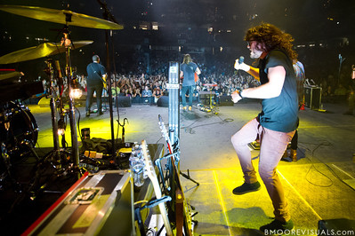 """Jonathon """"J.D."""" Douglass of Hillsong United performs in front of a sold out crowd on August 5, 2011 at St. Pete Times Forum in Tampa, Florida"""