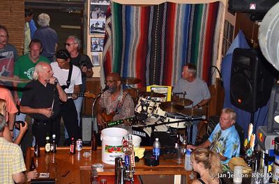 Bill Miller, Royce Cofield, Sonny Skyyz, Jeff Hawthrone (drums), Billy Burch
