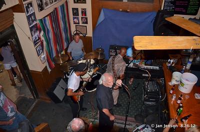 Jeff Hawthrone (drums), Royce Cofield, Bill Miller, Sonny Skyyz, Billy Burch
