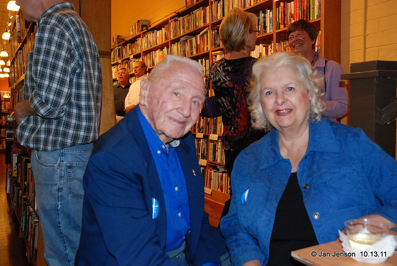 Dr. Clyde Young and his beautiful wife Libby.  Clyde played trumpet and fluglehorn (and still does, occasionally) and Libby sang/sings songs from the Gershwin era!