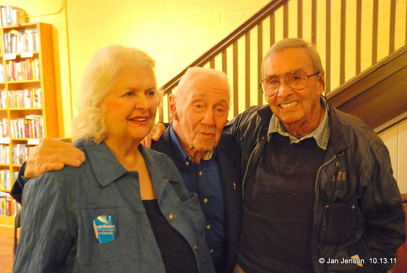 Libby and Clyde Young and Ben Martin (photographer for TIME, LIFE, Fortune, People and many other magazines), and Salisbury natives!