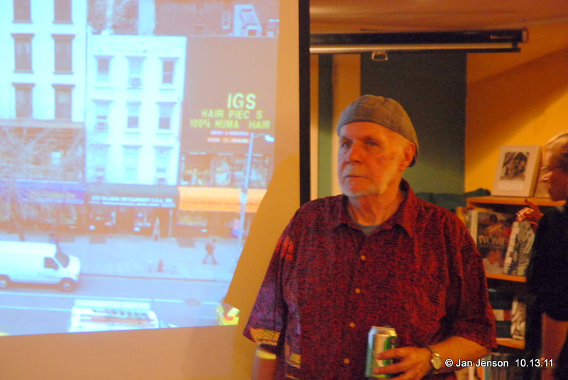 Ron Free talked briefly about his days at the Jazz Loft and the huge variety of jazz musicians who passed through there during his days playing drums there.  Then he went up to the balcony and gave us a wonderful taste of just how GOOD that jazz music can sound!  Thanks Ron!!
