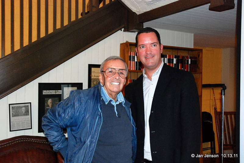 Ben R. Miller, III (photographer for TIME, LIFE, Fortune, People, Sports Illustrated, Money, Entertainment Weekly and many others) with Sam Stephenson, author of the Jazz Loft Project book.