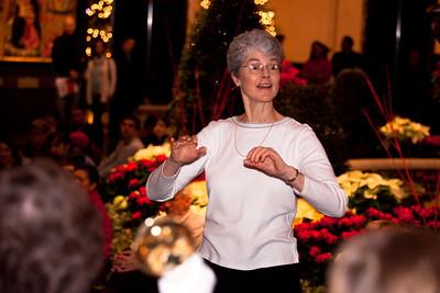 Susan Staines, director Metropolitan Ringers