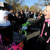 "Maible Matranga, 1, plays a rabbit in a hat with her mother, Kelly Davidson, right,  playing the magician in the Halloween parade.<br /> The annual Longmont Halloween Parade and Trick or Treat Street was held down Main Street Saturday morning<br /> For more photos and a video, go to  <a href=""http://www.timescall.com"">http://www.timescall.com</a>.<br /> Cliff Grassmick  / October 27, 2012"