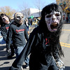 "Members of the Silver Creek High School Marching Band had the Halloween look and walk during the parade.<br /> The annual Longmont Halloween Parade and Trick or Treat Street was held down Main Street Saturday morning<br /> For more photos and a video, go to  <a href=""http://www.timescall.com"">http://www.timescall.com</a>.<br /> Cliff Grassmick  / October 27, 2012"