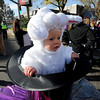 "Maible Matranga, 1, plays a rabbit in a hat with her mother, Kelly Davidson, playing the magician in the Halloween parade.<br /> The annual Longmont Halloween Parade and Trick or Treat Street was held down Main Street Saturday morning<br /> For more photos and a video, go to  <a href=""http://www.timescall.com"">http://www.timescall.com</a>.<br /> Cliff Grassmick  / October 27, 2012"
