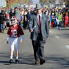 "Jackson Appling, 9, is playing Joe Namath, and Keith Appling is coach Bear Bryant, in the Halloween parade<br /> The annual Longmont Halloween Parade and Trick or Treat Street was held down Main Street Saturday morning<br /> For more photos and a video, go to  <a href=""http://www.timescall.com"">http://www.timescall.com</a>.<br /> Cliff Grassmick  / October 27, 2012"