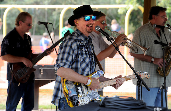 "Chris Daniels, center, and the Kings played  at the Lafayette July 4th Community Celebration on Wednesday at Waneka Lake Park.<br /> For more photos and a video of the celebration, go to  <a href=""http://www.dailycamera.com"">http://www.dailycamera.com</a>.<br /> Cliff Grassmick / July 4, 2012"