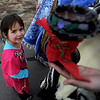"Nizhoni Encina-Serrano, 3,  waits with her family before the MLK March in Longmont on Sunday.<br /> For more photos and a video of the march, go to  <a href=""http://www.dailycamera.com"">http://www.dailycamera.com</a>.<br /> January 15, 2012 / Cliff Grassmick"