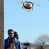 "Danny Gee, a 2nd-grader, launches her pumpkin at a target for class.<br /> Students at Coyote Ridge  Elementary School in Broomfield, combine science with Halloween with pumpkin launchings on Wednesday.<br /> For a video  and more photos of the pumpkin launch at Coyote Ridge Elementary, go to  <a href=""http://www.broomfieldenterprise.com"">http://www.broomfieldenterprise.com</a>.<br /> Cliff Grassmick  / October 31, 2012"