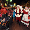 "Santa Claus and Mrs. Claus greet people along the Pearl Street Mall after the lighting ceremony.<br /> Santa Claus flipped  the switch that lit up the Pearl Street Mall and Boulder County Courthouse, as well as the star on Flagstaff Mountain.<br /> For a video and photo gallery  of the activities, go to  <a href=""http://www.dailycamera.com"">http://www.dailycamera.com</a>.<br /> Cliff Grassmick  / November 18, 2012"